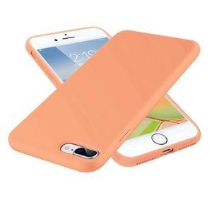 iPhone 7/8 PLUS Neon Orange/Papaya Matte Case